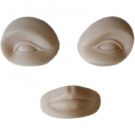 Eye Brow Lip 3-pack (3-Dimensional Head Is Suitable)