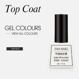 Permanent Nail Polish Sina Top Coat 7mL