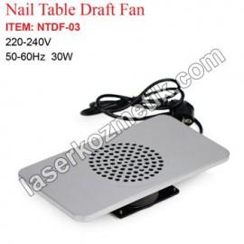 Protez tırnak masa fanı NTDF-03