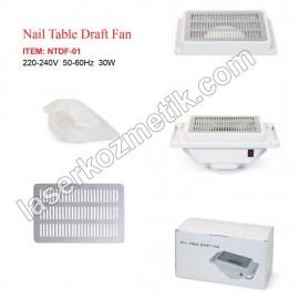 Protez tırnak masa fanı NTDF-01