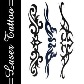 Transfer Tattoo - Siyah S-003