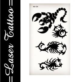 Transfer Tattoo - Siyah S-001
