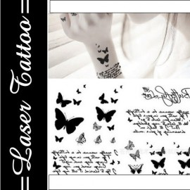Transfer Tattoo - Siyah S-047