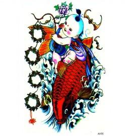 Transfer Tattoo - - Renkli AX90