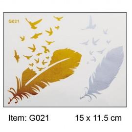 Transfer Tattoo - G 021