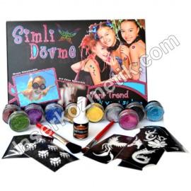 Glitter Tattoo Kit - Set-1