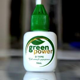 Silk Eyelash Adhesive - GREEN POWER