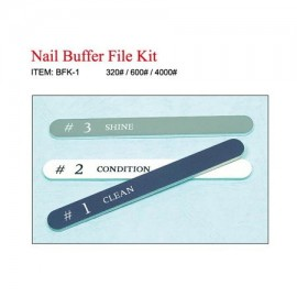 3 GANG SET Nail Files [BFK-1]