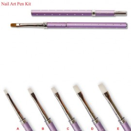 Gel Brush Kit (5 Stone) [UGPK-01]