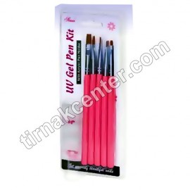 Gel Brush Kit (5 Stone) [UGPK-03]
