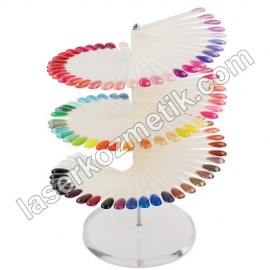 Color Chart - 120'li Clear
